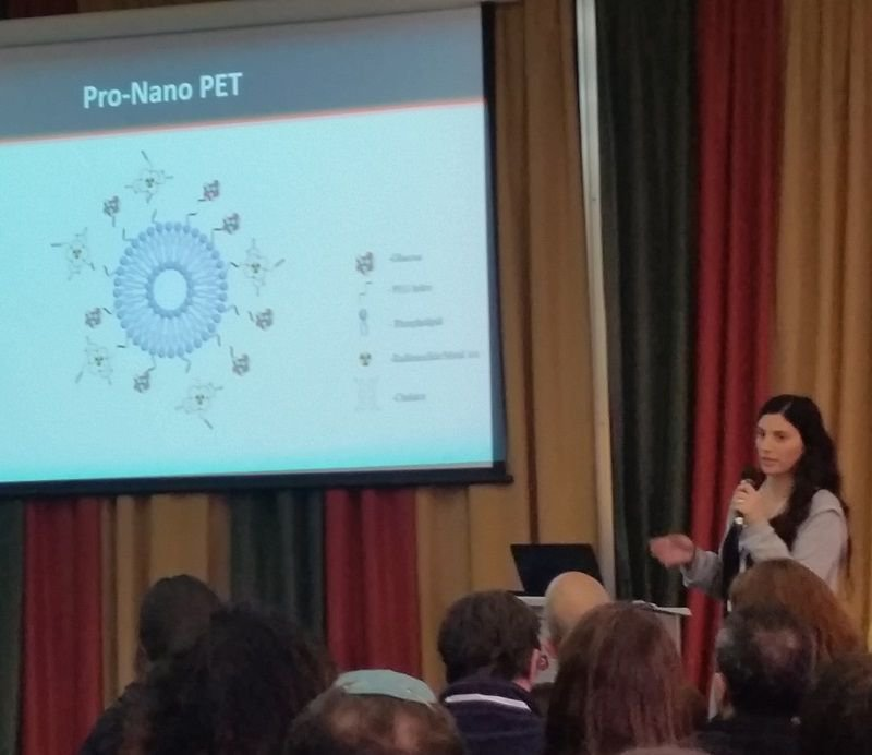 Our PhD student Chen Ztror-Azankot gave an excellent talk on her research of PET-compatible liposomes for specific tumor detection at the annual BINA conference.