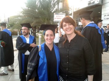 Congratulations to Malka Shilo for receiving her PhD degree
